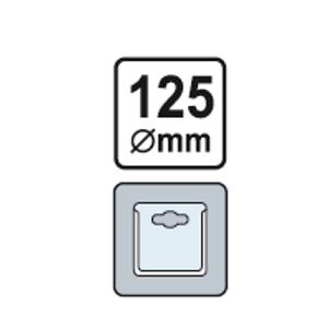 Kotúč brúsny Multi-disk do vŕtačky 125 mm