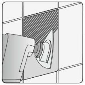 Trojuholníková brúsna doska pre multifunkciu HM, 80 mm (betón, keramika)