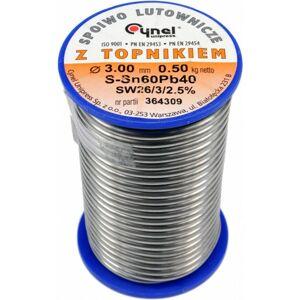 Cín spájkovací 3,0 mm 500 g