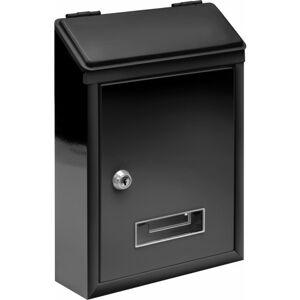 Schránka poštová čierna 300 x 210 x 65 mm