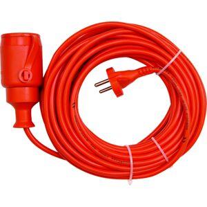Predlžovací kábel 10m /oranz./