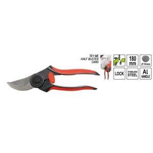 Nožnice záhradné 180 mm (pr.do 14 mm) nerezová Al rukoväť