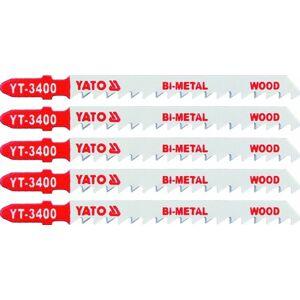 List do priamočiarej píly 100 mm na drevo TPI6 5 ks Bi-Metal