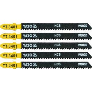 Pílový list do priamočiarej píly 100 mm TPI10 5 ks