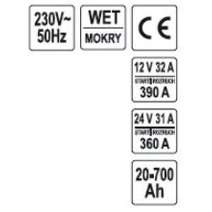 Nabíjačka s funkciou štartovania motorov 20-700Ah