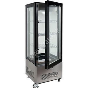 Stojanová chladiaca vitrína 400l 650x650x1908mm 175kg