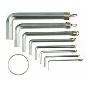 Sada kľúčov imbusových Hex 1.5 - 10 mm 10 ks