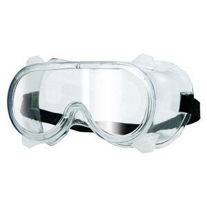 Okuliare ochranné uzatvorené číre typ HF-105