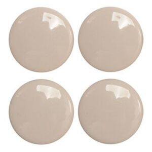 Podložky samolepiace pod nábytok biele 38 mm 4 ks