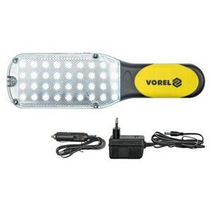 Lampa montážna 36 LED - nabíjacia 230 V